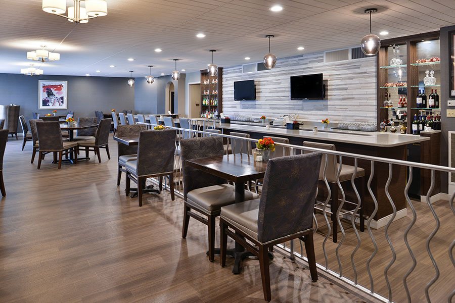 restaurant and lounge